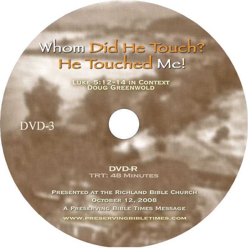 Leper DVD Label