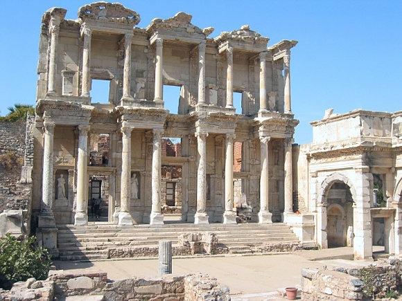 Turkey Trip Library of Celsus Ephesus