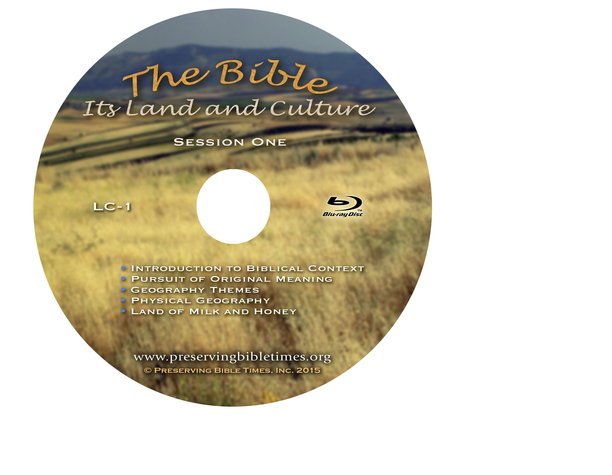 TheBible_SessionOne Disc Face